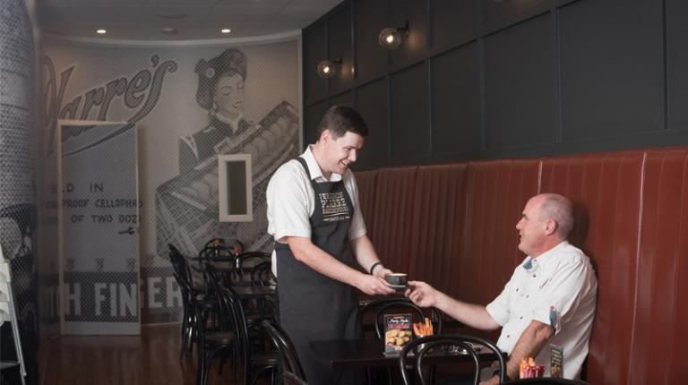 From the hallways of VU to employment in hospitality