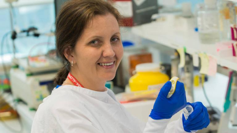 How Charlett went from stay-at-home-mum to cancer researcher